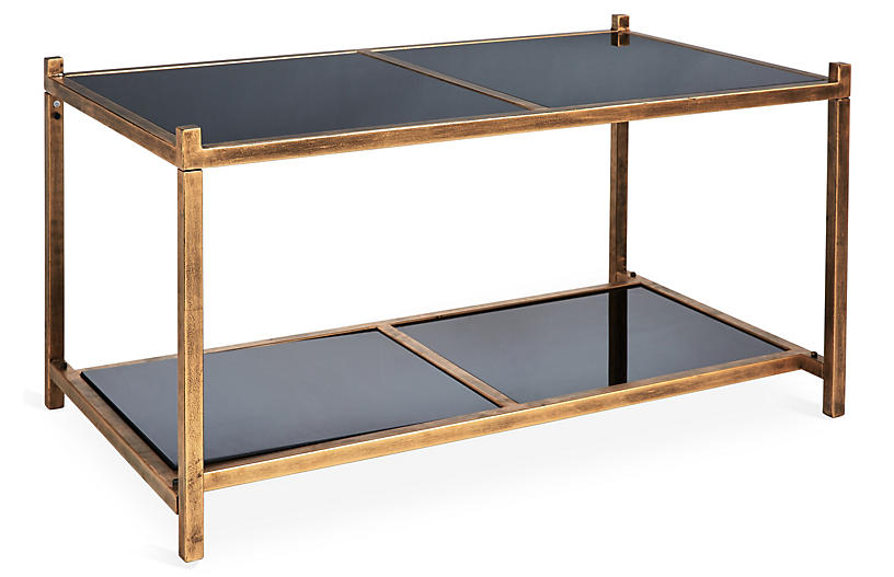 Super Luton Tiered Coffee Table Brass Ocoug Best Dining Table And Chair Ideas Images Ocougorg