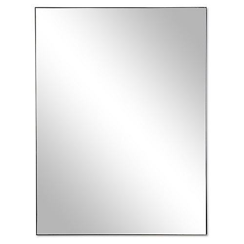 Exton Wall Mirror, Black