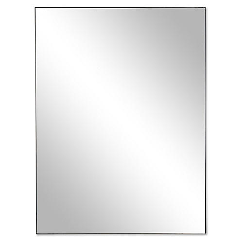 Exton Wall Mirror, Black