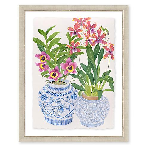 Gabby Malpas, Blue & White Orchids