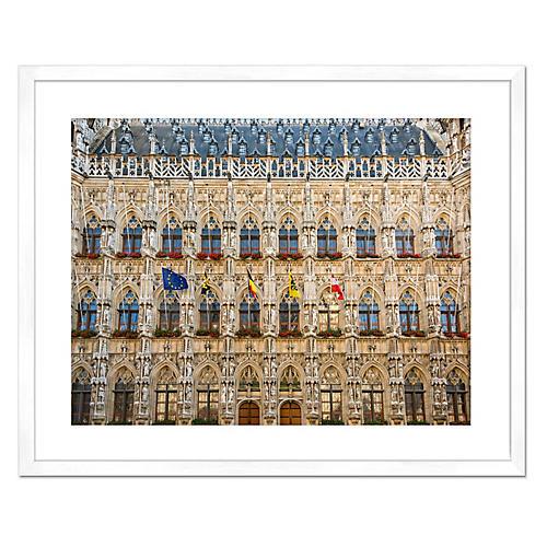 Leuven Town Hall, Richard Silver