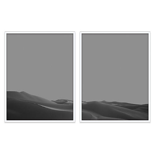 Imperial Dunes III Diptych Photograph