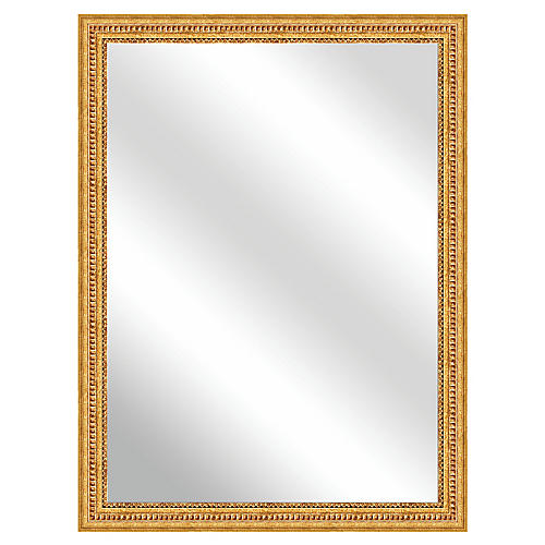 Roseville Oversize Wall Mirror, Gold by One Kings Lane