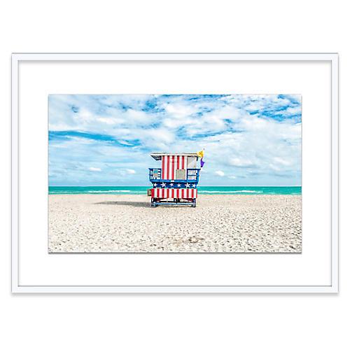 Lifeguard Chair, Miami I, Richard Silver
