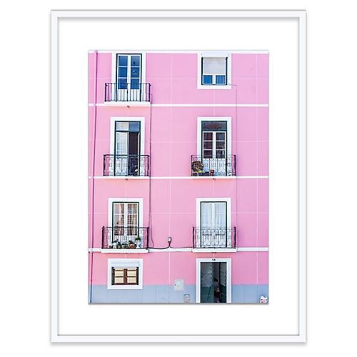 Pink Building, Richard Silver