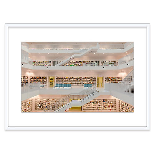Richard Silver, Stuttgart Public Library