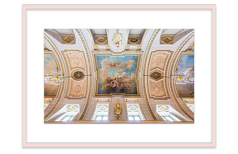 Richard Silver, Royal Palace Ceiling, Brussels