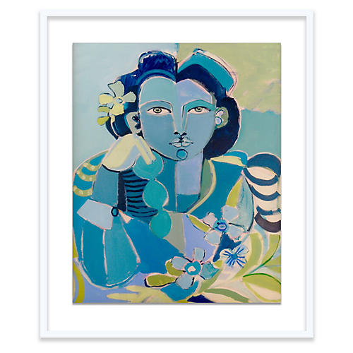 Hayley Mitchell, Blue Lady