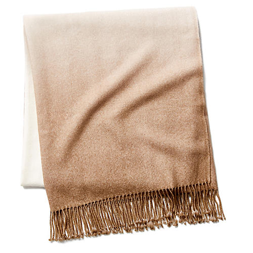 Dip-Dye Throw, Camel