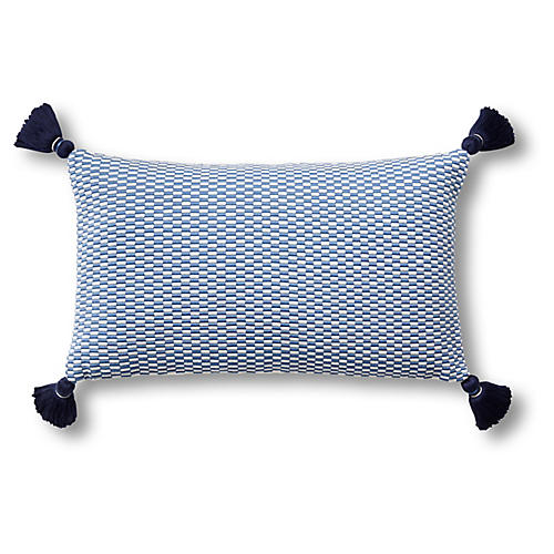 Ella 12x20 Pillow, Periwinkle