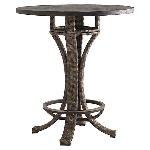 Olive Bistro Table, Walnut
