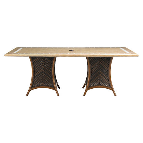 "Lanai 44"" Dining Table, Walnut"