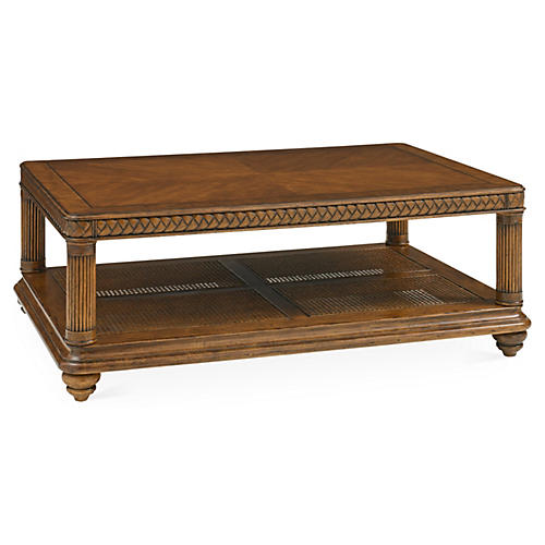 Vineyard Point Storage Cocktail Table