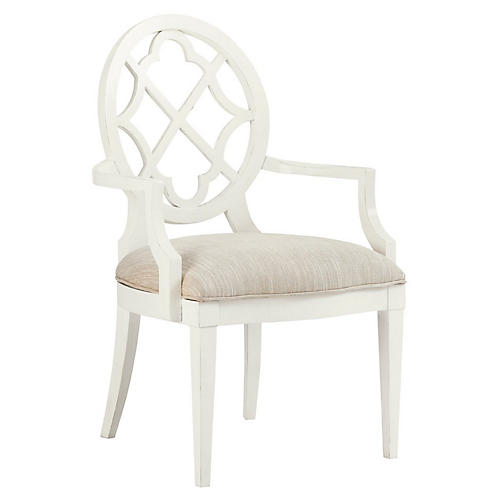 Mill Creek Armchair, Pearl