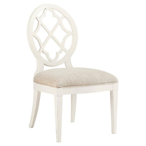 Mill Creek Side Chair, Pearl