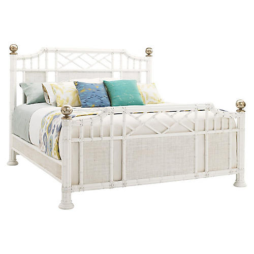Pritchards Bay Rattan Bed