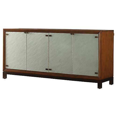 "Sea Glass 81"" Sideboard, Sienna"