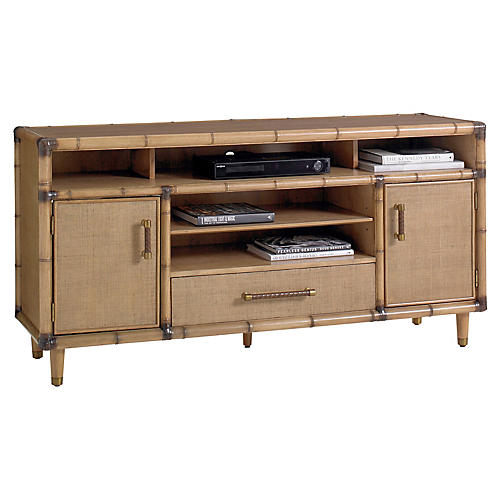 Windjammer Media Console, Warm Umber