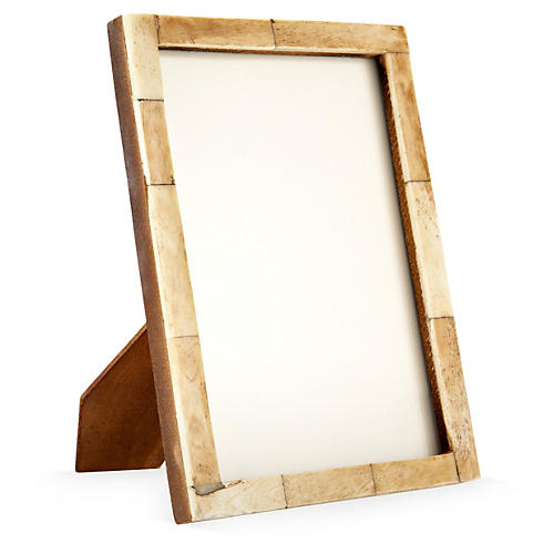 Horn Frame, 5x7, Brown