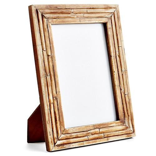 Raised-Interior Frame, 5x7, Brown