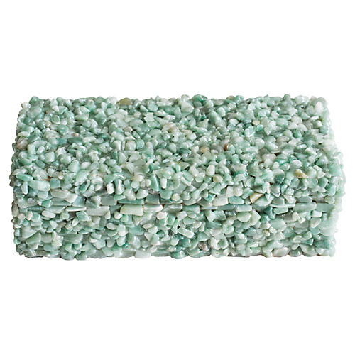 Cienega Green Quartz Box