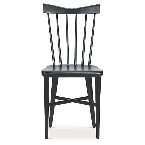 Mackenzie Side Chair, Black