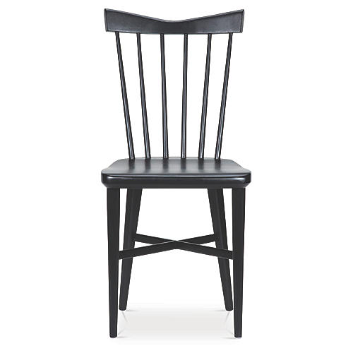 Mackenzie Side Chair, Black