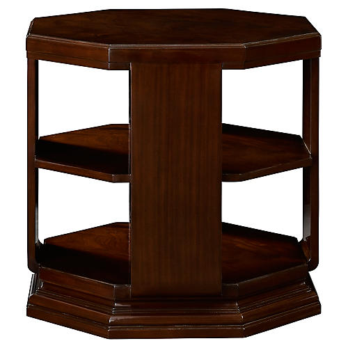 Brook Street Side Table, Chairman Mahogany