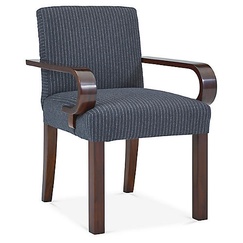 Penthouse Suite Armchair, Charcoal