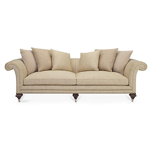 Heiress Sofa, Cashew