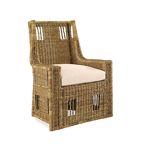 Sea-Grass Accent Chair