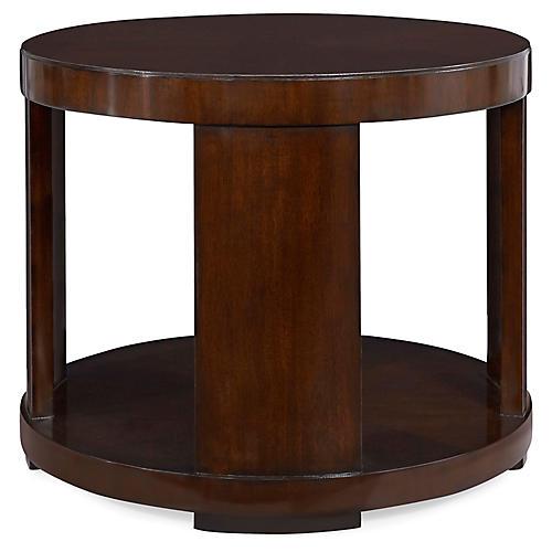 Modern Drum Side Table