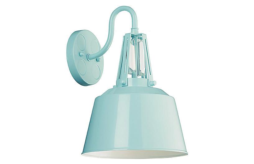 Redmond 1-Light Sconce, Blue
