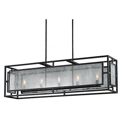 Noreen 5-Light Chandelier, Zinc