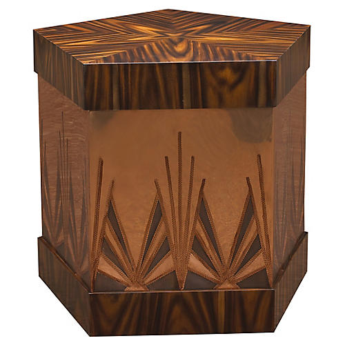 Ramos Fizz Side Table, Rosewood