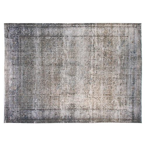 "9'6'x12'6"" Brooklyn Rug, Gray"