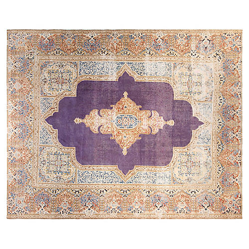 "9'10""x12'7"" Catalina Rug, Purple/Multi"