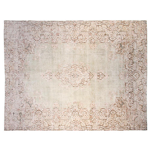 "9'6""x12'6"" Lainey Rug, Sage/Multi"
