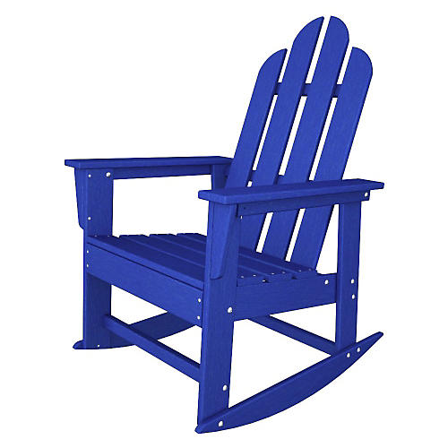 Long Island Rocker, Pacific Blue