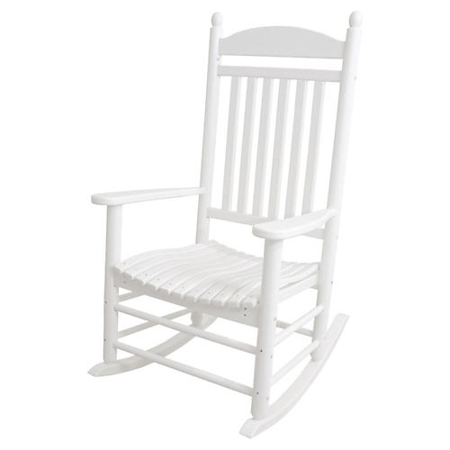 Jefferson Rocker, White