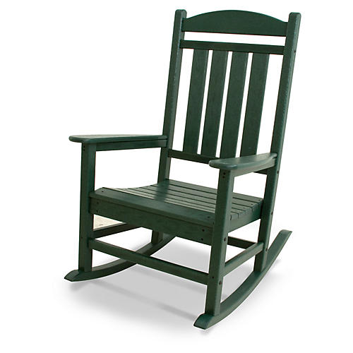 Presidential Rocker, Green