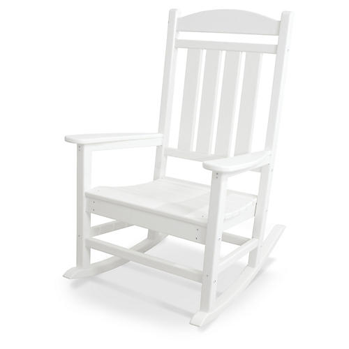 Presidential Rocker, White