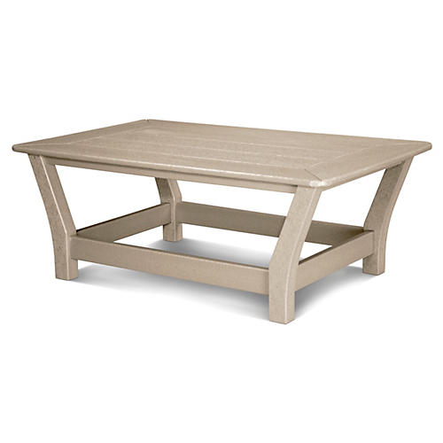 Harbour Slat Coffee Table, Sand