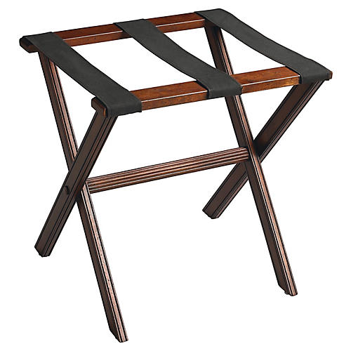 Brock Luggage Rack, Cherry