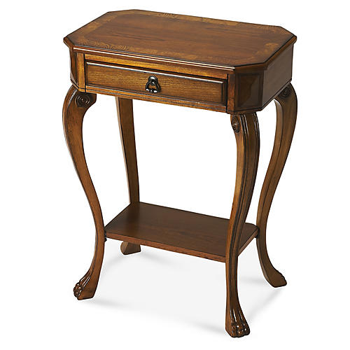 Lily Side Table, Cherry