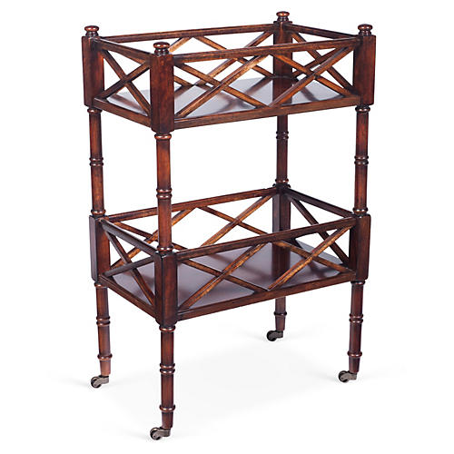 Peters Bar Cart, Cherry