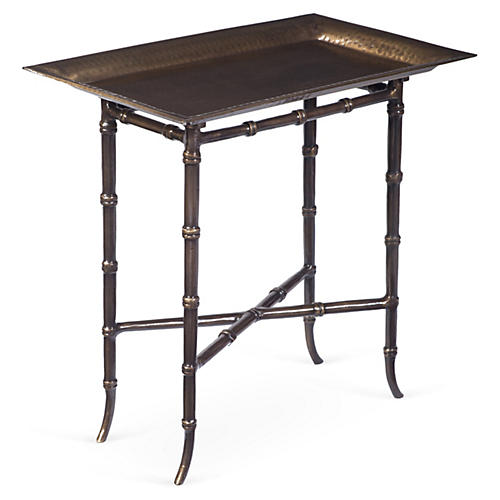 Clinton Tray Table, Bronze