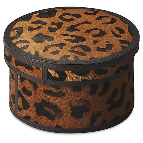 "8"" Caolan Storage Box, Brown"