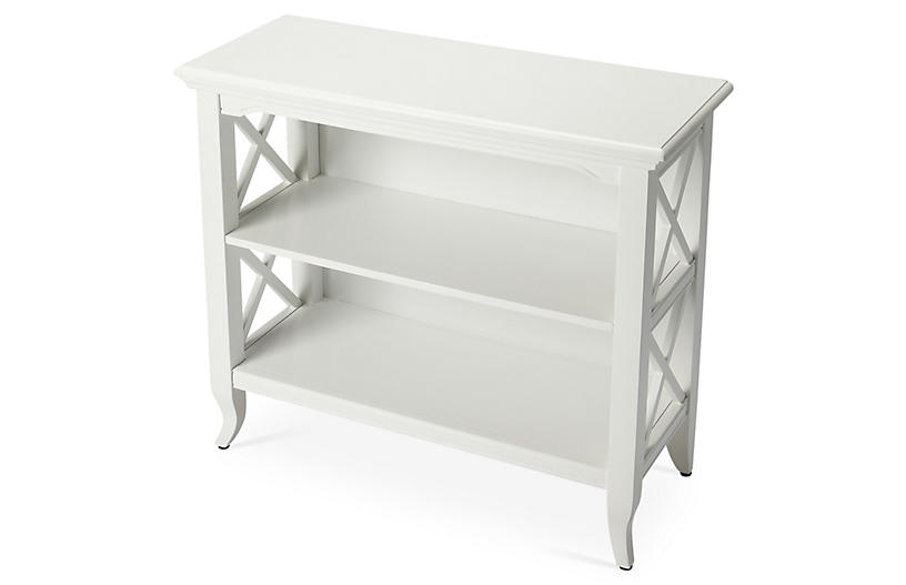 Grace Bookcase, Cottage White