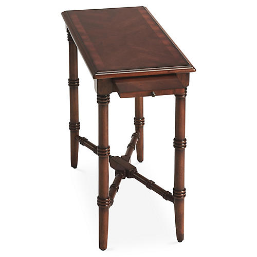 Madison Side Table w/ Tray, Cherry